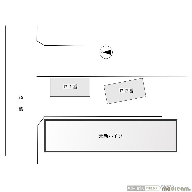 杉並区高井戸西1丁目 月極め駐車場 1台募集開始画像2
