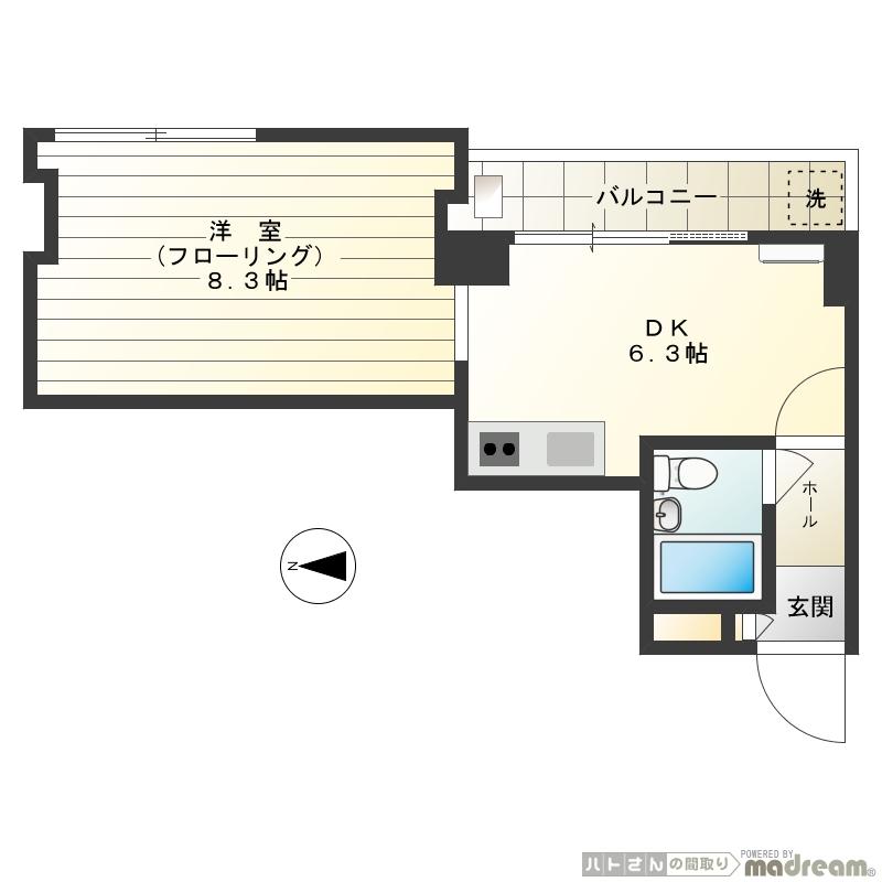 JR山手線「原宿駅」徒歩10分 分譲賃貸マンション 1DK 32.18㎡ 事務所相談可 画像2