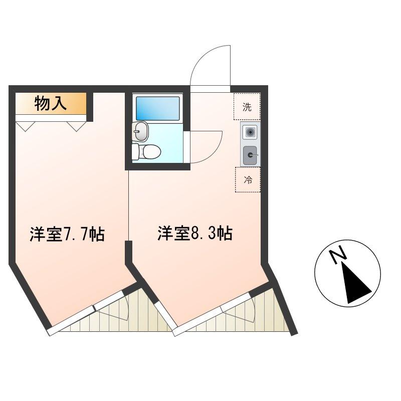 完成しました!個人事務所に最適!乃木坂駅徒歩2分!32.26㎡リノベーションルーム画像2