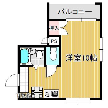 ジーク新井薬師203号
