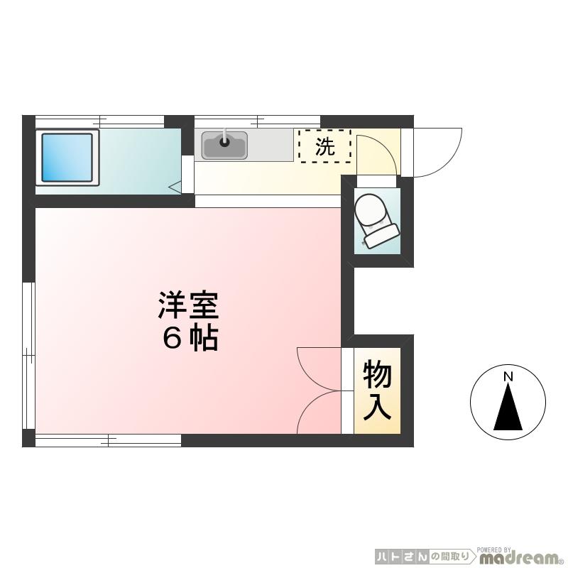 緑荘5号室